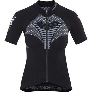 X-Bionic Twyce Fahrrad Trikot SS Damen black/white black/white