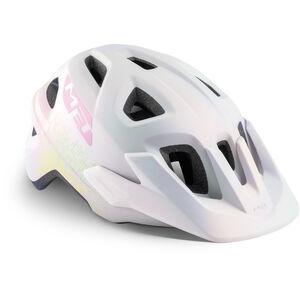 MET Eldar Helm Kinder iridescent white texture iridescent white texture