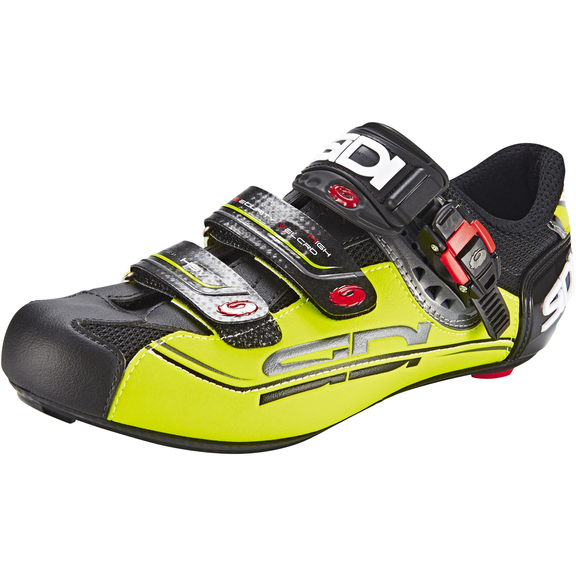 Sidi Genius 7 Mega Shoes Herren blackyellow