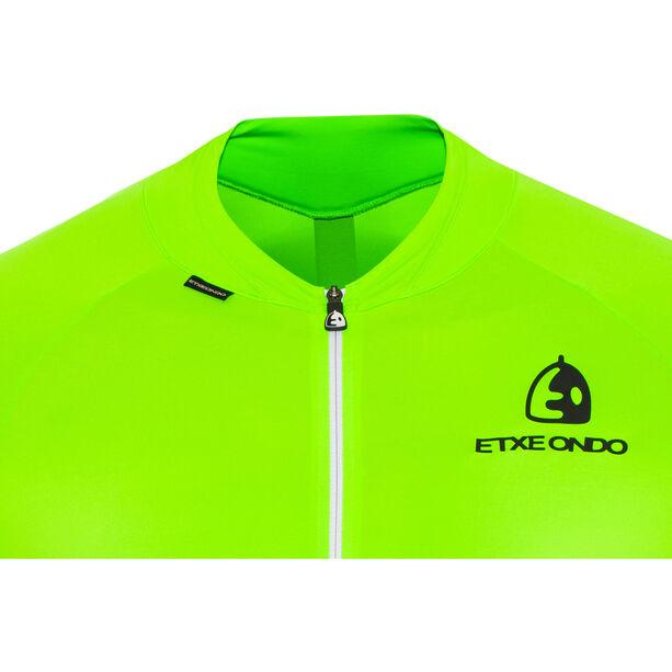 Etxeondo Entzun SS Jersey Herren green fluor