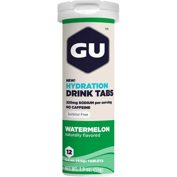 GU Energy Hydration Drink Tabs 12 Stück Watermelon