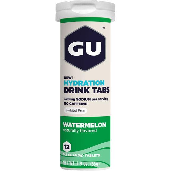 GU Energy Hydration Drink Tabs Watermelon 12 Stück bei fahrrad.de Online