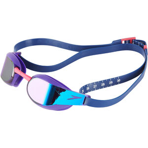 speedo Fastskin Elite Mirror Goggles violet/blue mirror violet/blue mirror