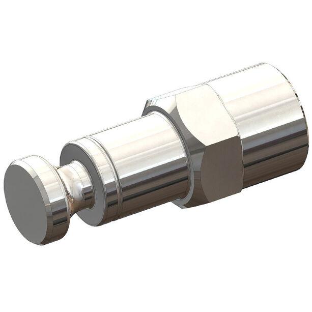 Croozer Click & Crooz Achsmutterkupplung XL M10x1 silber