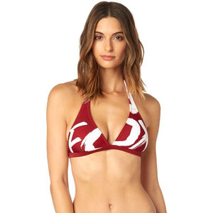 Fox Rodka Fixed Swim-Top Damen dark red dark red