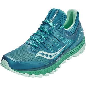 saucony Xodus ISO 3 Shoes Damen green/aqua green/aqua