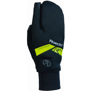Roeckl Villach Trigger Handschuhe black/yellow black/yellow