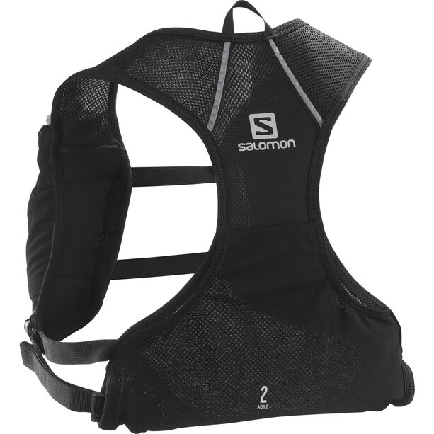Salomon Agile Nocturne 2 Rucksack Set black with Logo