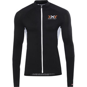 X-Bionic The Trick Biking Shirt LS Full Zip Men Black/White bei fahrrad.de Online