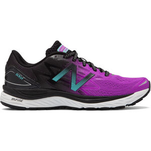 New Balance Solvi Shoes Women purple/black