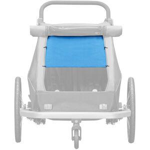 Croozer Sonnenschutz für Kid Plus / Kid for 2 Kinder ocean blue ocean blue