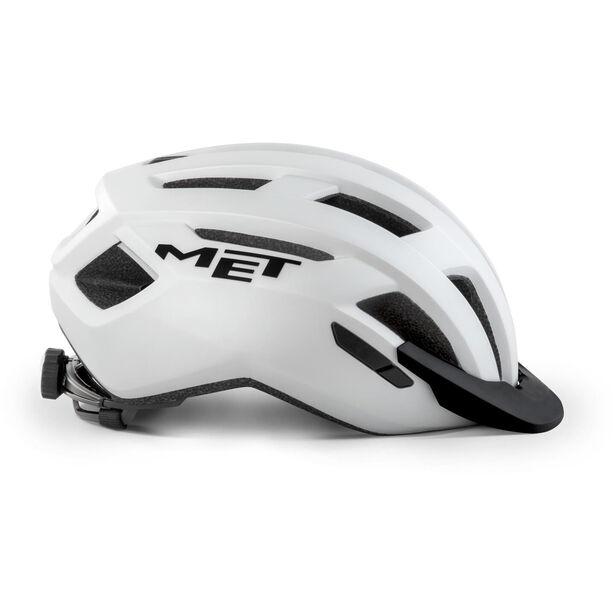 MET Allroad Helm white matte