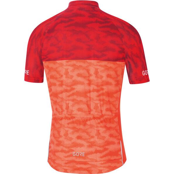GORE WEAR C3 Cameleon Jersey orange.com/red
