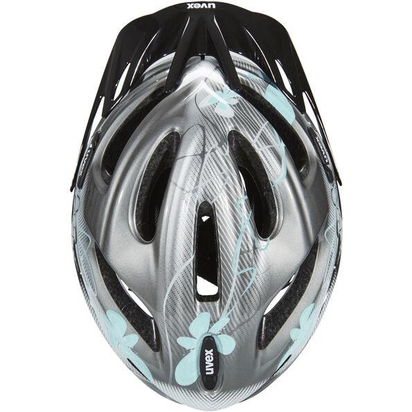 UVEX onyx Helmet Damen dark silver-light blue