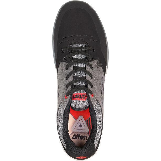 Afton Shoes Keegan Flatpedal Shoes Herren grey-red