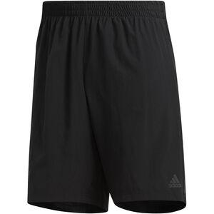 "adidas Own The Run 2N1 Shorts 9"" Herren black black"