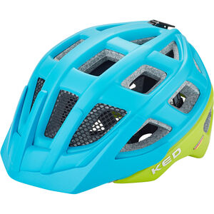 KED Kailu Helmet Kids lightblue green matt