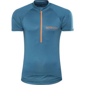 Alpinestars Elite SS Jersey Herren blue bright orange blue bright orange