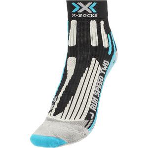 X-Socks Run Speed Two Socks Ladies Black/Turquoise