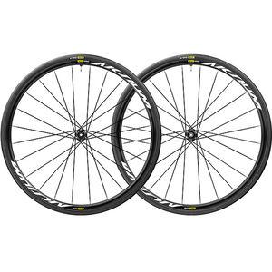 Mavic Aksium Elite UST Laufradsatz Disc Center-Lock Shimano/SRAM M-28 schwarz schwarz