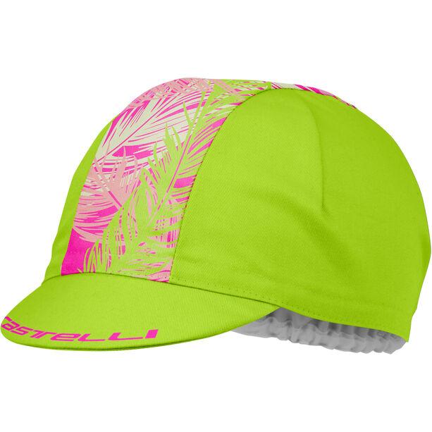 Castelli TR Cap Damen sunny line/piuma pink