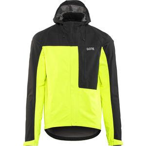 GORE WEAR C3 Gore-Tex Paclite Hooded Jacket Herren neon yellow/black neon yellow/black