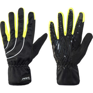 Red Cycling Products Winter Race Bike Gloves black-neonyellow black-neonyellow