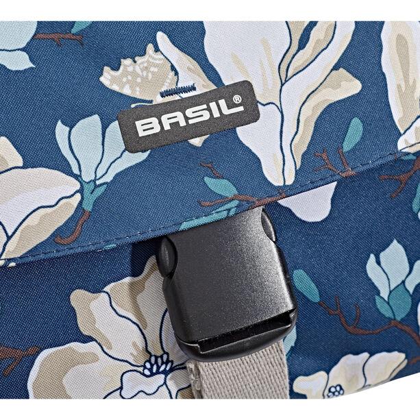 Basil Magnolia S Doppel-Gepäckträgertasche 25l teal blue