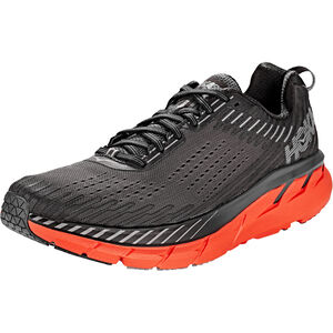 Hoka One One Clifton 5 Running Shoes Men Dark Shadow/Spicy Orange