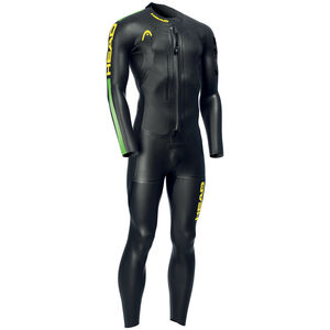 Head Swimrun Race 6.4.2.1,5 Wetsuit Herren black/brasil black/brasil