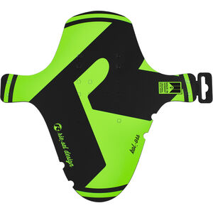 "rie:sel design kol:oss Front Mudguard 26-29"" green green"