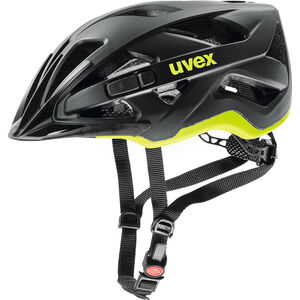 UVEX Active CC Helmet black-yellow matt black-yellow matt