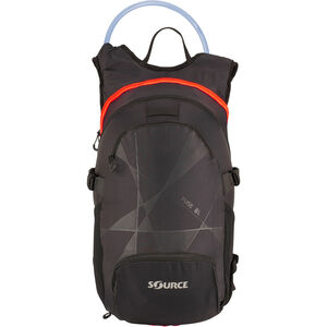 SOURCE Fuse Trinkrucksack 2+6l black/orange black/orange