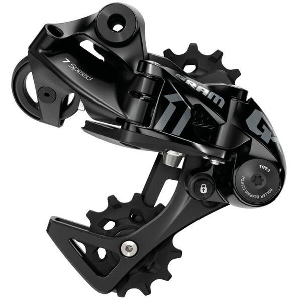 SRAM GX DH Schaltwerk 7-fach Mittellanger Käfig black