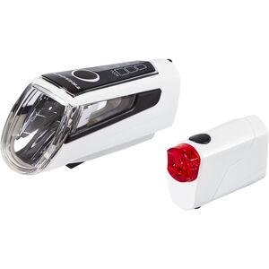 Trelock LS 560 I-GO CONTROL+LS 720 REEGO Akkubeleuchtung-Set weiß bei fahrrad.de Online