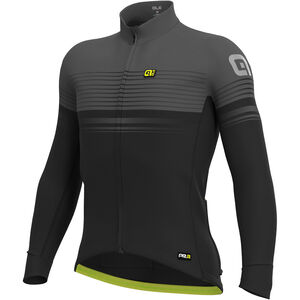 Alé Cycling Graphics PRR Slide Wind Jersey Herren black-charcoal grey black-charcoal grey