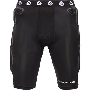 SixSixOne Exo II Short mit Sitzpolster black