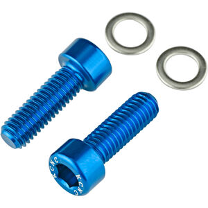 KCNC Flaschenhalter Schrauben blue blue
