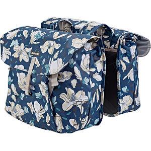 Basil Magnolia Doppel-Gepäckträgertasche 35l teal blue teal blue