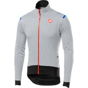 Castelli Alpha Ros Light Jacket Herren silver gray/black silver gray/black