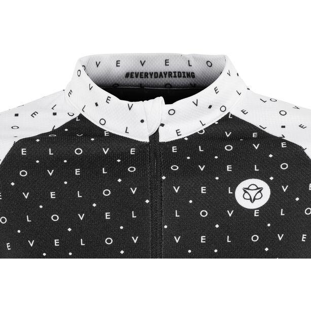 AGU Velo Longsleeve Shirt Damen black/white