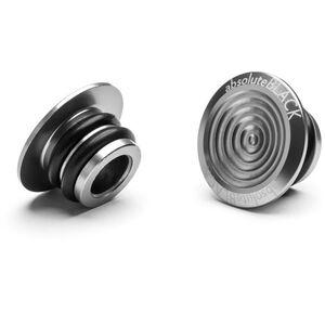 absoluteBLACK Aluminium Lenker Plugs grey grey