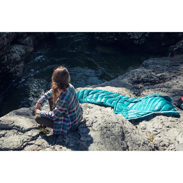 Grüezi-Bag Biopod DownWool Extreme Light 175 Sleeping Bag viridian green