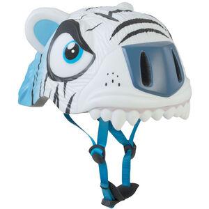 Crazy Safety Tiger Helm Kinder weiß weiß