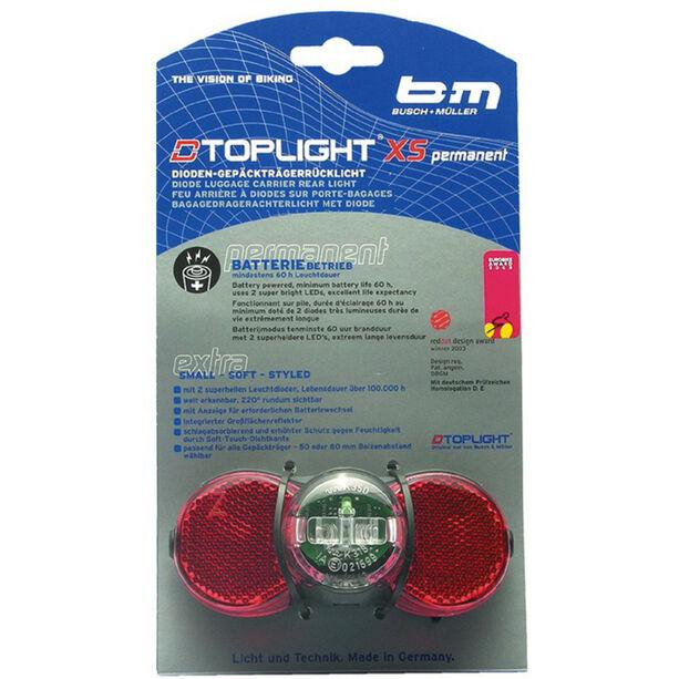 Busch + Müller D-Toplight XS permanent schwarz/rot
