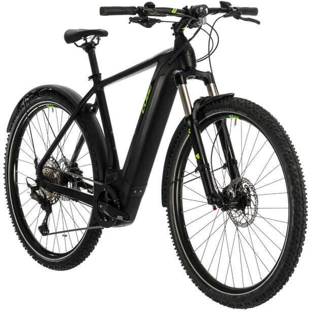 Cube Cross Hybrid Race 500 Allroad black'n'green