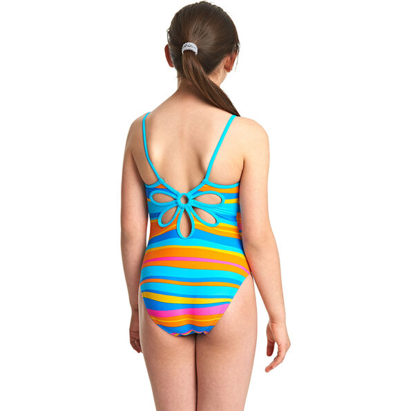 Zoggs Folk Tale Yaroomba Floral Swimsuit Mädchen