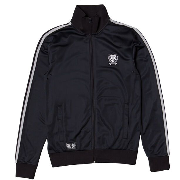 Brick Lane Bikes London BLB Taped Zip Track Top Herren black
