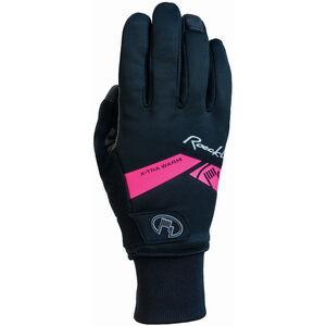 Roeckl Villach Handschuhe schwarz/pink schwarz/pink