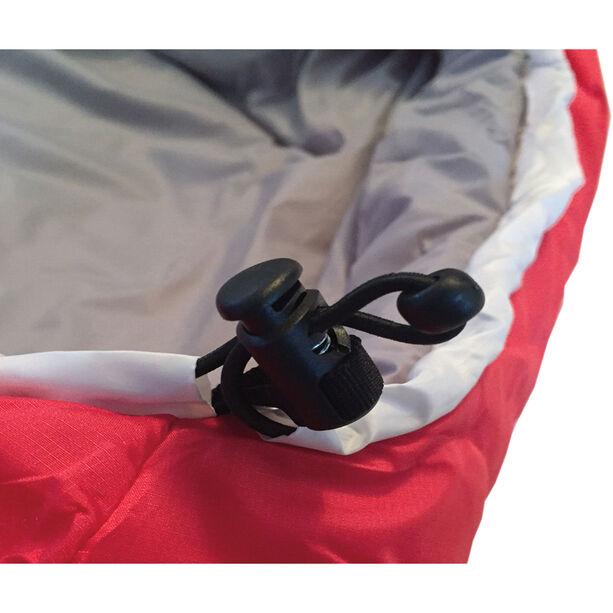 Grüezi-Bag Biopod Wool Zero Sleeping Bag XL tango red